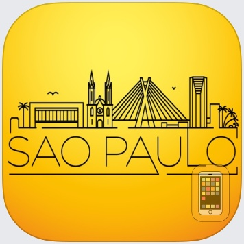 São Paulo Travel Guide - Augmented Reality with Street and Transport Metro Map 100% Offline - Tourist Advisor for your trip to the city - Brazil 2014 by eTips LTD (Universal)