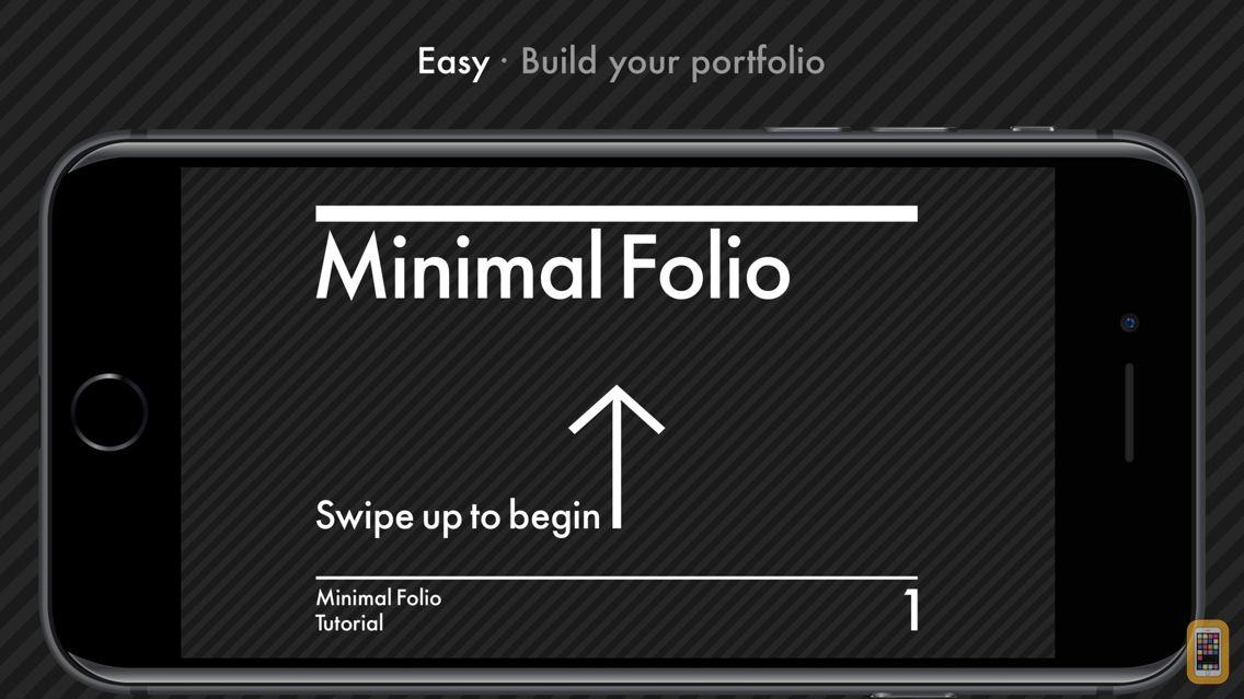 Screenshot - Minimal Folio