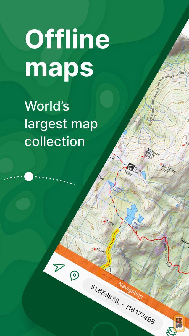 Screenshot - Avenza Maps