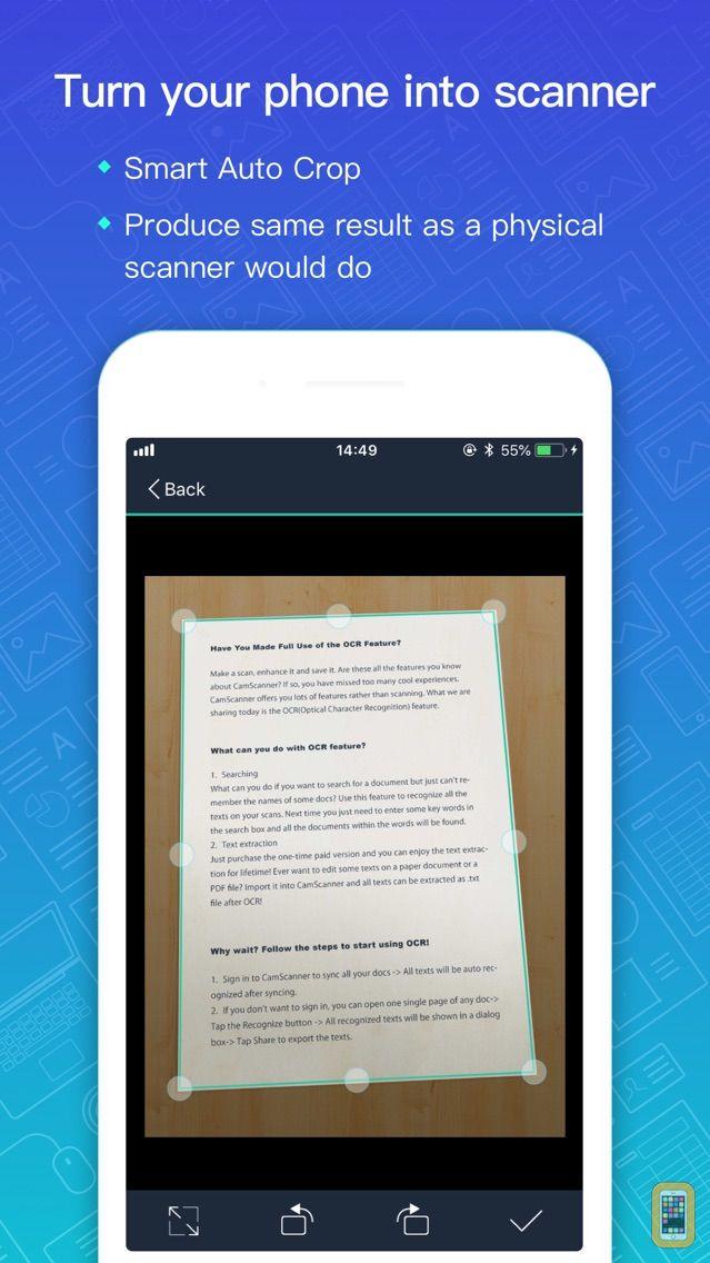 Screenshot - CamScanner + | OCR Scanner