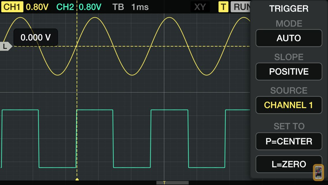 Screenshot - Oscilloscope