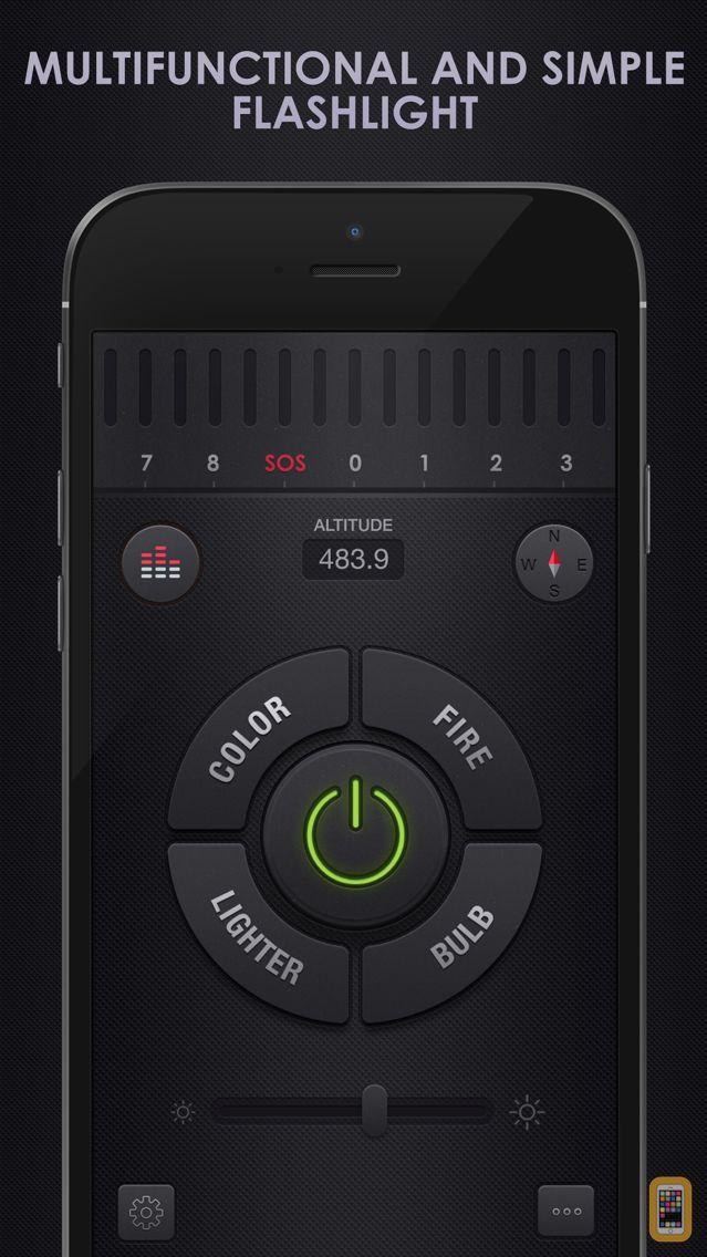Screenshot - Flashlight for iPhone + iPad