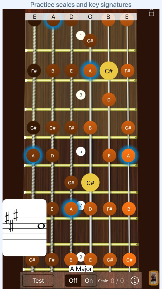Screenshot - Guitar Sight Reading Trainer