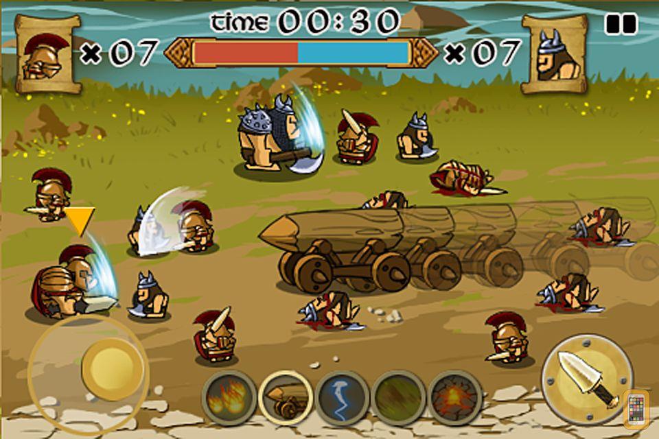 Screenshot - Spartans vs Vikings