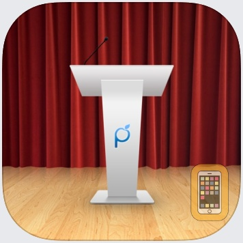 Public Speaking Teleprompter by Plum Amazing Software LLC (Universal)