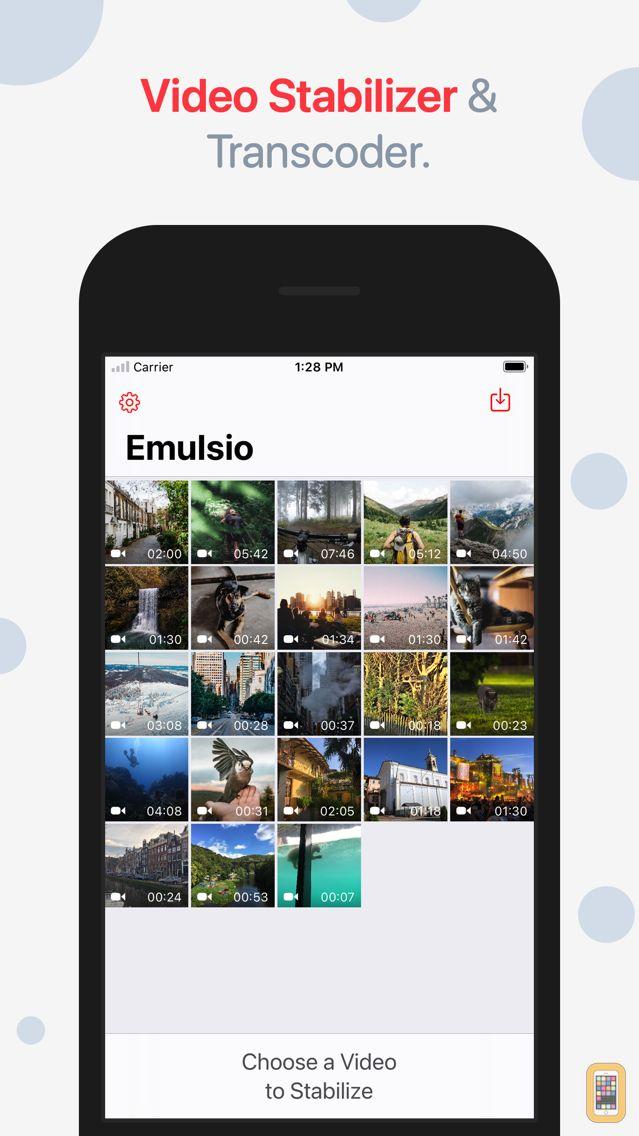 Screenshot - Emulsio - Video Stabilizer