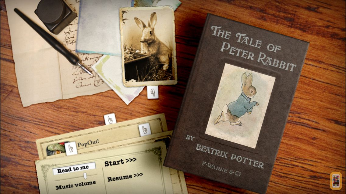 Screenshot - PopOut! The Tale of Peter Rabbit - Potter