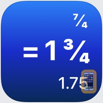 Fraction Calculator Pro by lindahl studios LLC (Universal)