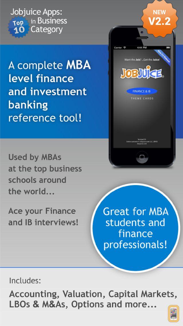 Screenshot - Jobjuice Fin. & Inv. Banking
