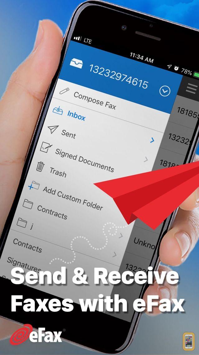 Screenshot - eFax – send fax from iPhone