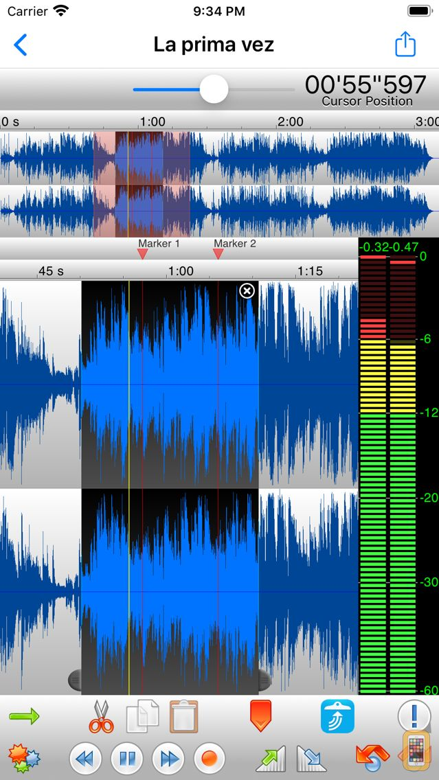 Screenshot - TwistedWave Audio Editor