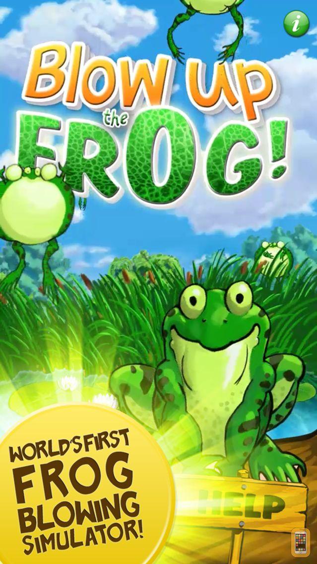 Screenshot - Blow Up the Frog