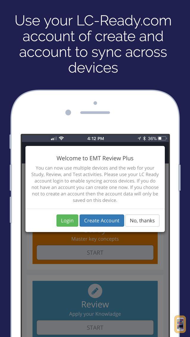 Screenshot - EMT Review Plus