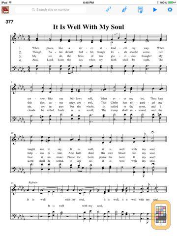Screenshot - Hymnal Methodist