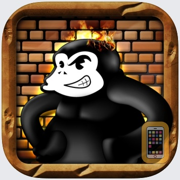 Monkey Labour - 80s handheld LCD retro game by Dawn of Play (Universal)
