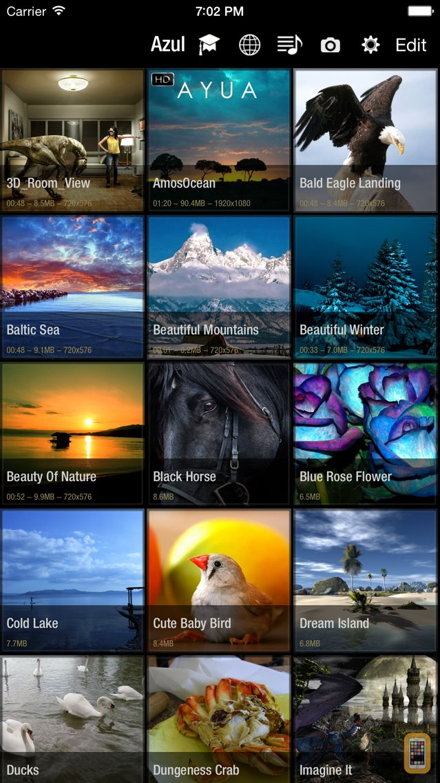 Screenshot - Azul - Video Player for iPhone