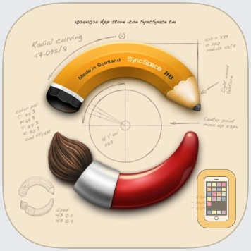 SyncSpace: Collaborative Zoomable Whiteboard by The Infinite Kind Limited (Universal)