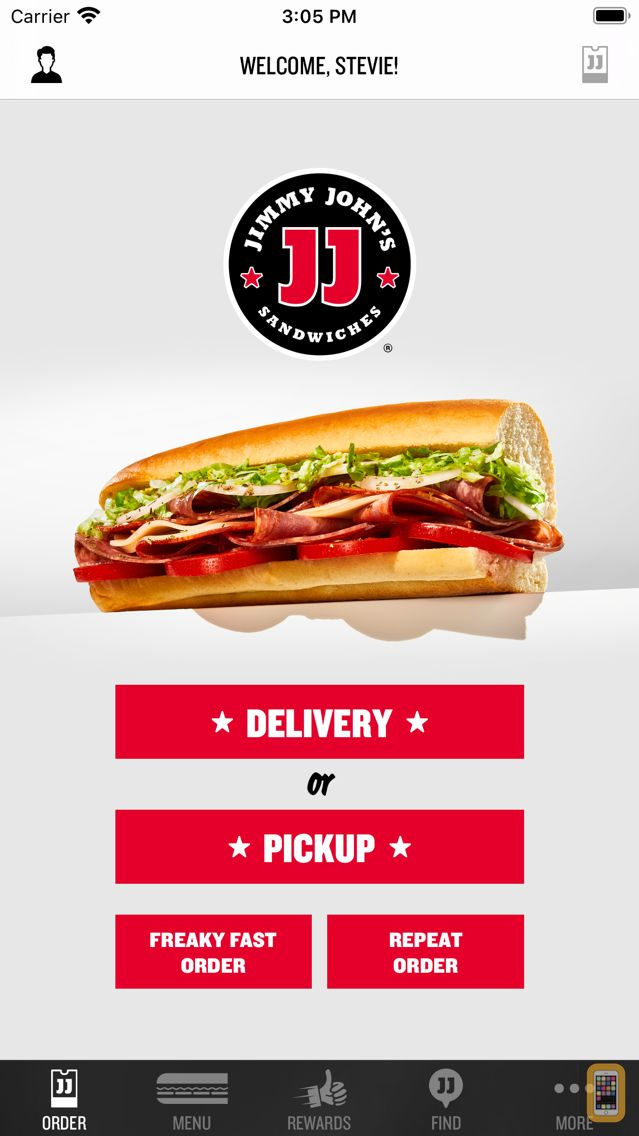 Screenshot - Jimmy John's Sandwiches