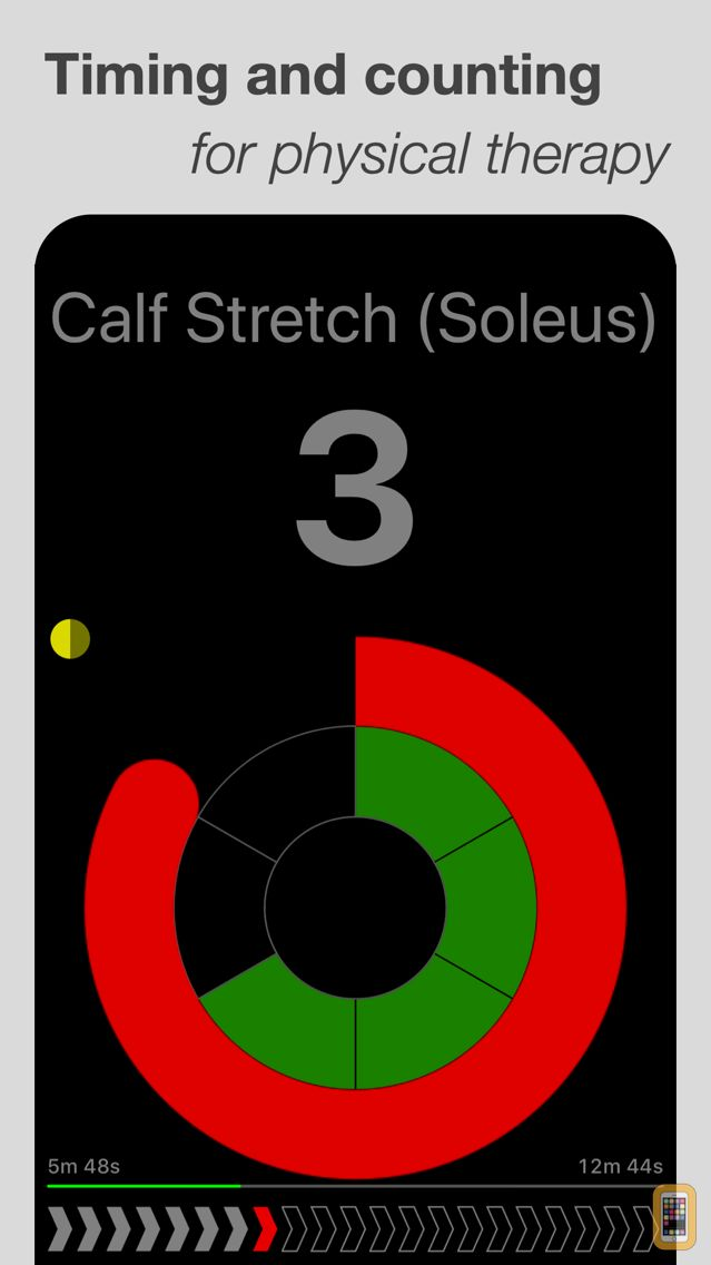 Screenshot - PT Timer: Stretch & Exercise