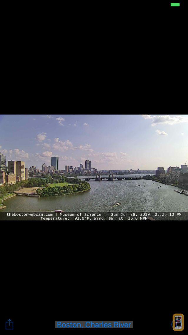Screenshot - SlothCam Webcam Browser