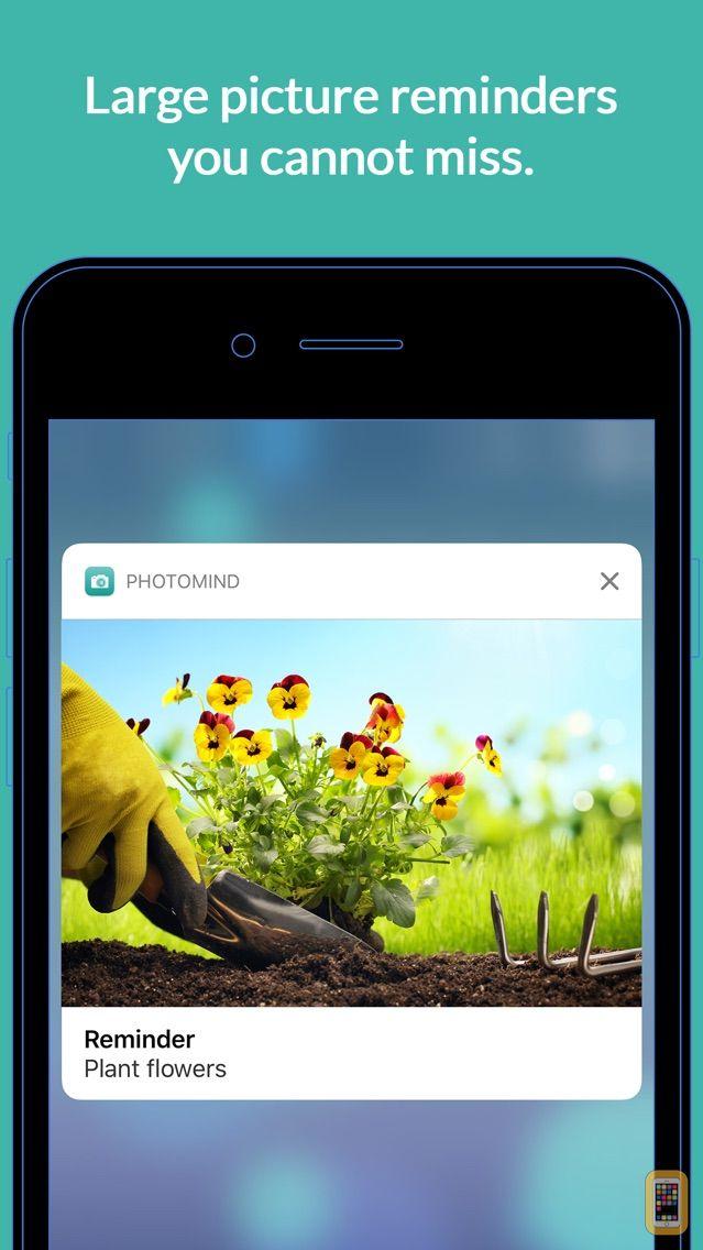 Screenshot - PhotoMind - Simple. Photo. Reminders.