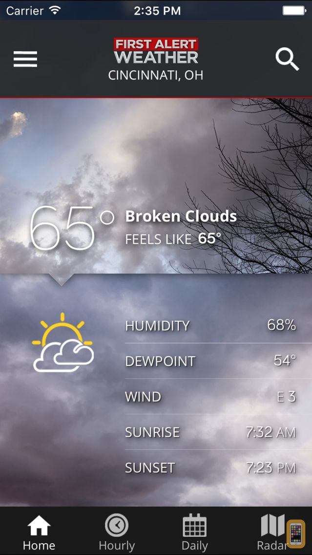 FOX19 First Alert Weather for iPhone & iPad - App Info