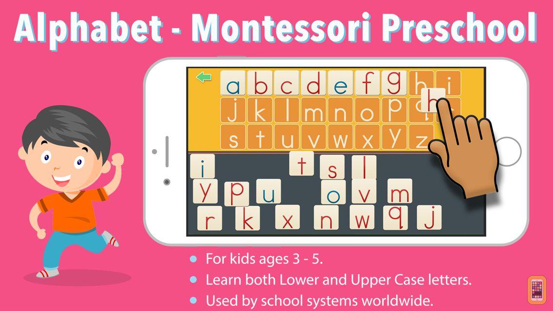 Screenshot - ABC Alphabet -Montessori Language for Preschoolers
