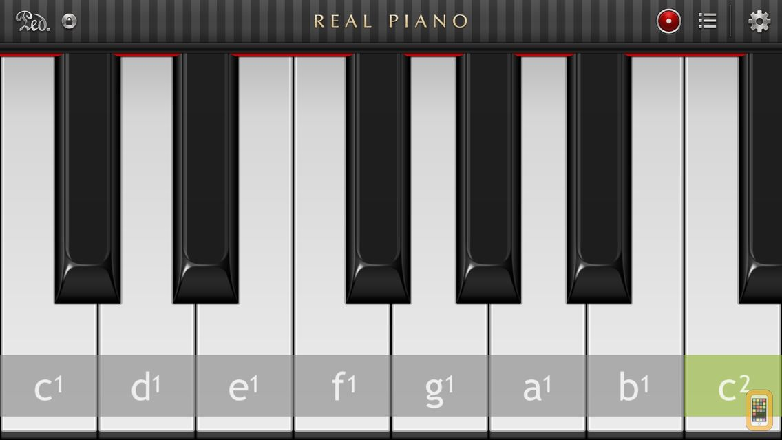 Screenshot - Real Piano™