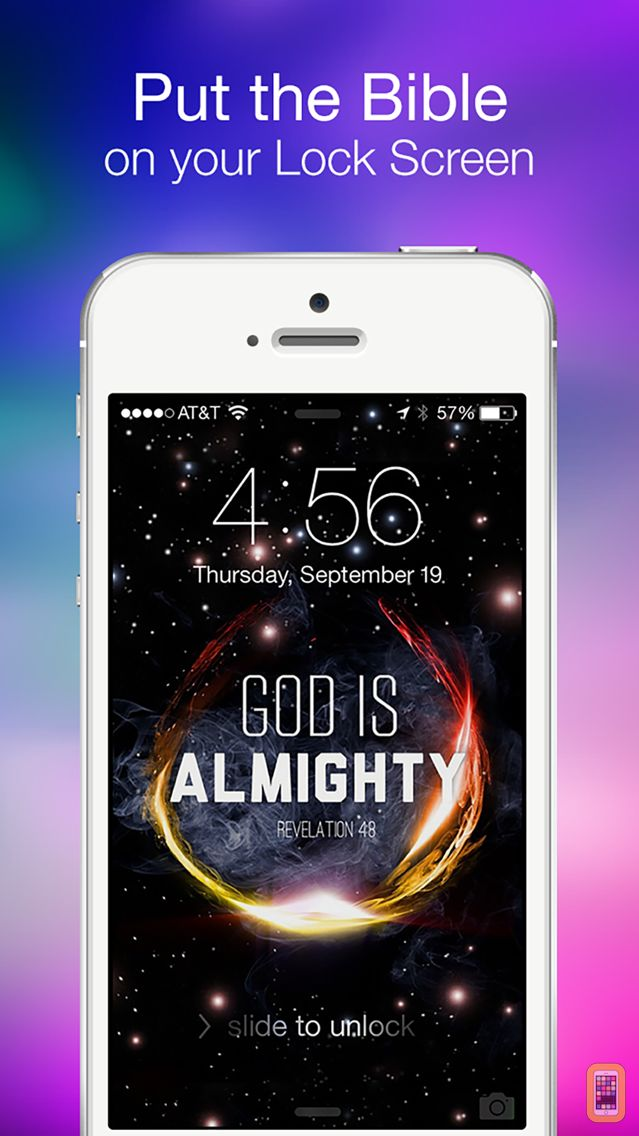 Screenshot - Bible Lock Screens™ - Bible Wallpapers / Backgrounds
