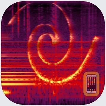 Spectrogram Pro (with super-smooth 60Hz update) by Dominik Seibold (Universal)