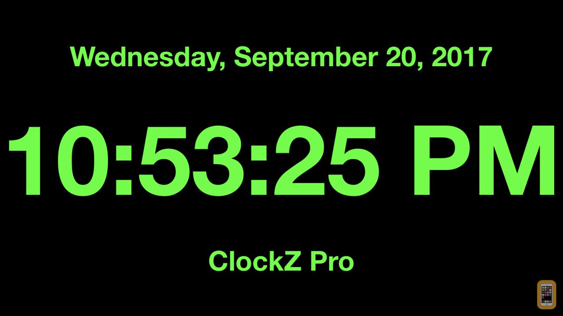 Screenshot - ClockZ Pro