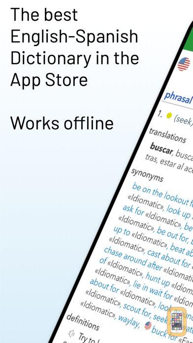 Screenshot - English Spanish Dictionary G.