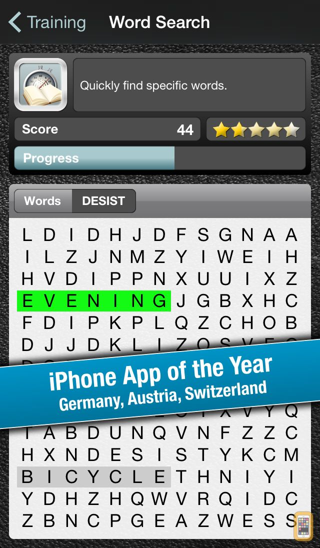 Screenshot - Reading Trainer for iPhone