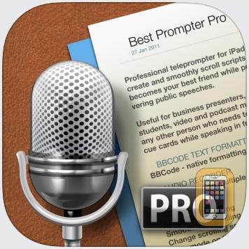 Best Prompter Pro - teleprompter by Serhii Simkovskyi (Universal)