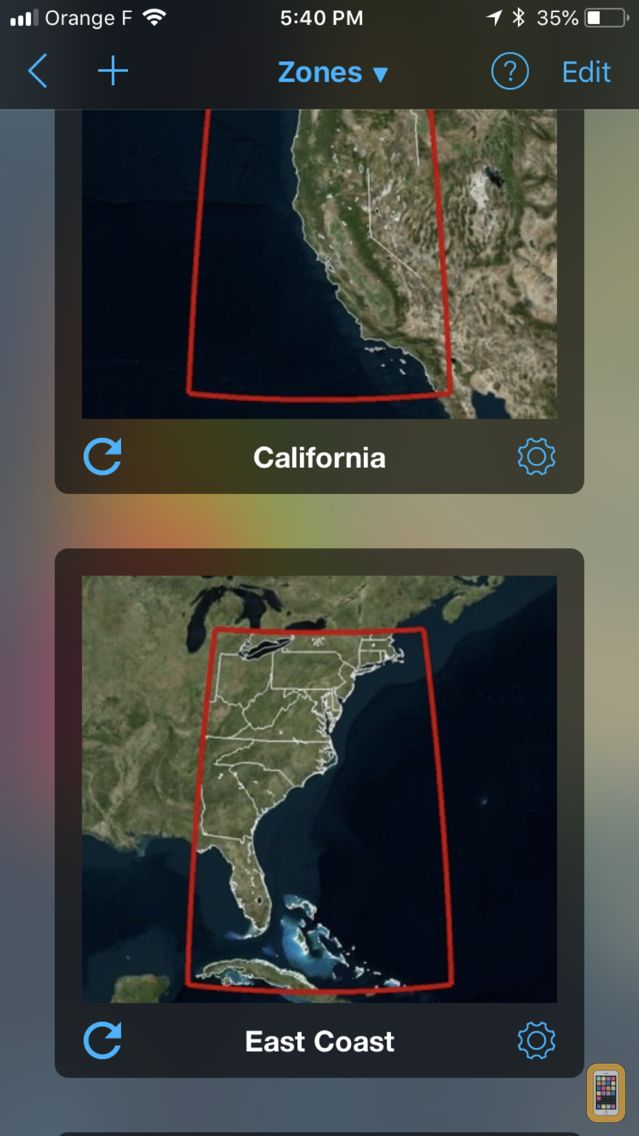 Screenshot - Weather4D Lite