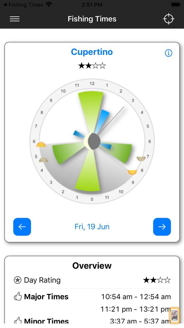 Screenshot - Fishing Times Pro