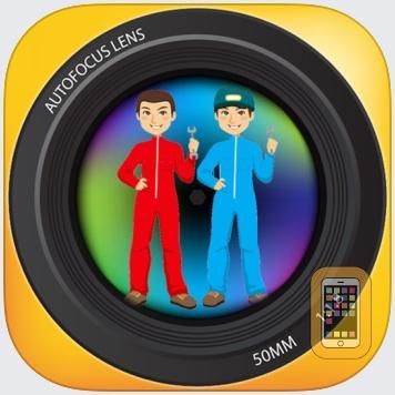 Twins Camera - Auto Stitch clone photos by Go2Share (Universal)
