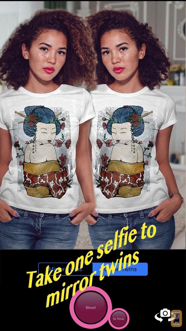 Screenshot - Twins Camera - Auto Stitch clone photos