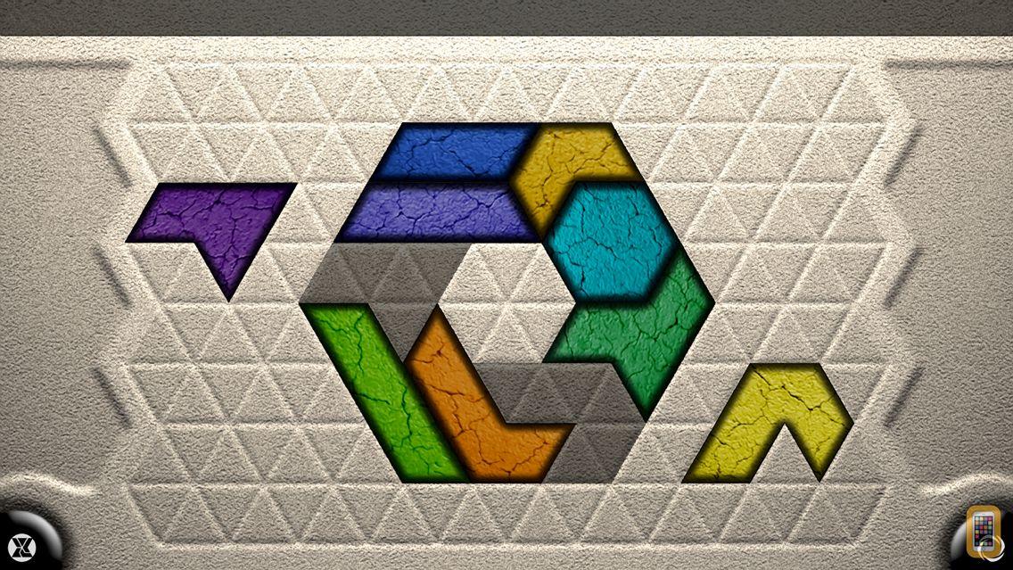 Screenshot - TriZen - Relaxing tangram style puzzles