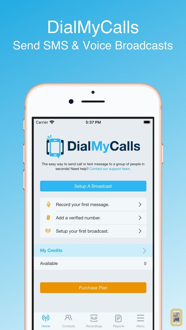 Screenshot - DialMyCalls - Voice Broadcasting & Group Calling