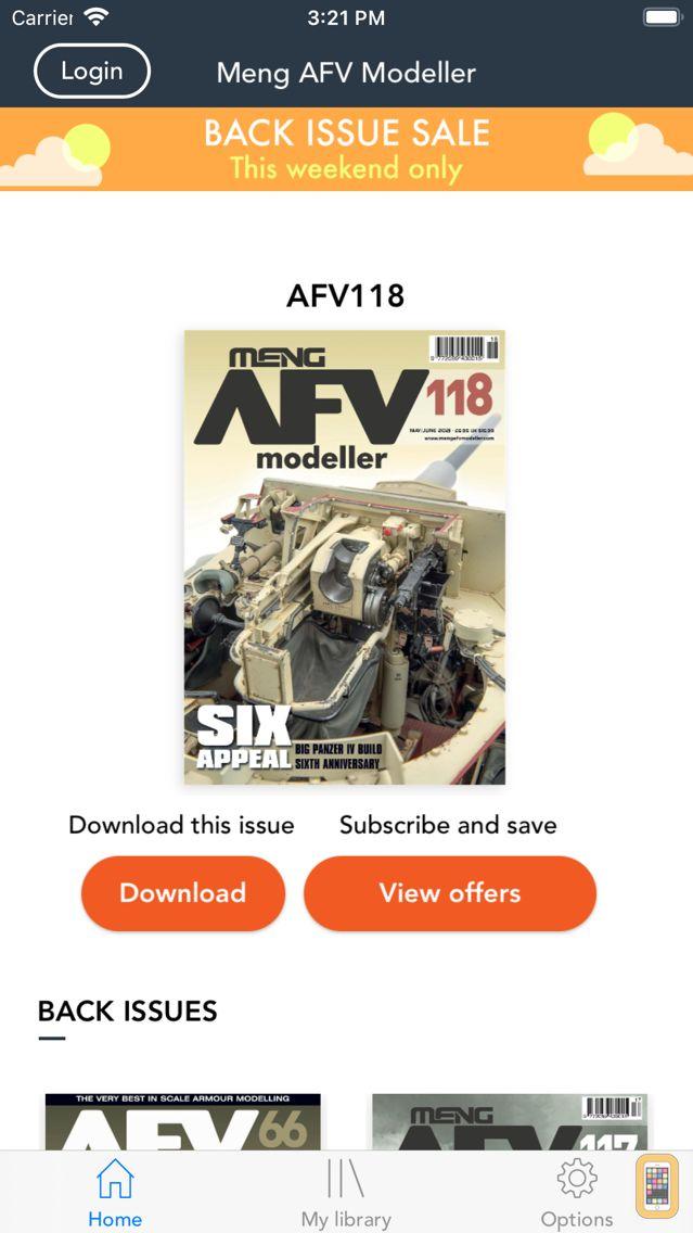 Screenshot - AFV Modeller
