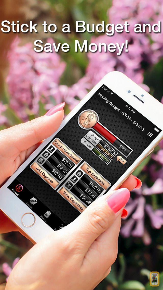 Screenshot - Budget Saved - Personal Finance and Money Management Mobile Bank Account Saving App