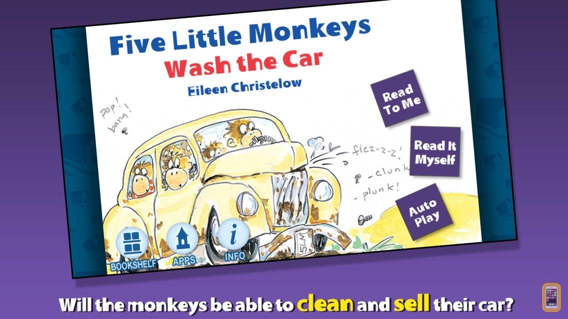 Screenshot - Five Little Monkeys Wash the Car