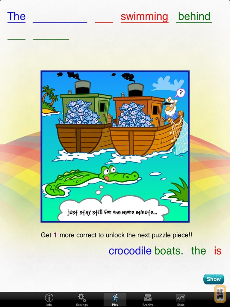 Screenshot - Rainbow Sentences