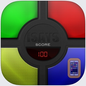 iSays - Simon Says Classic Color Switch Memory Game by Kfirapps Limited (Universal)