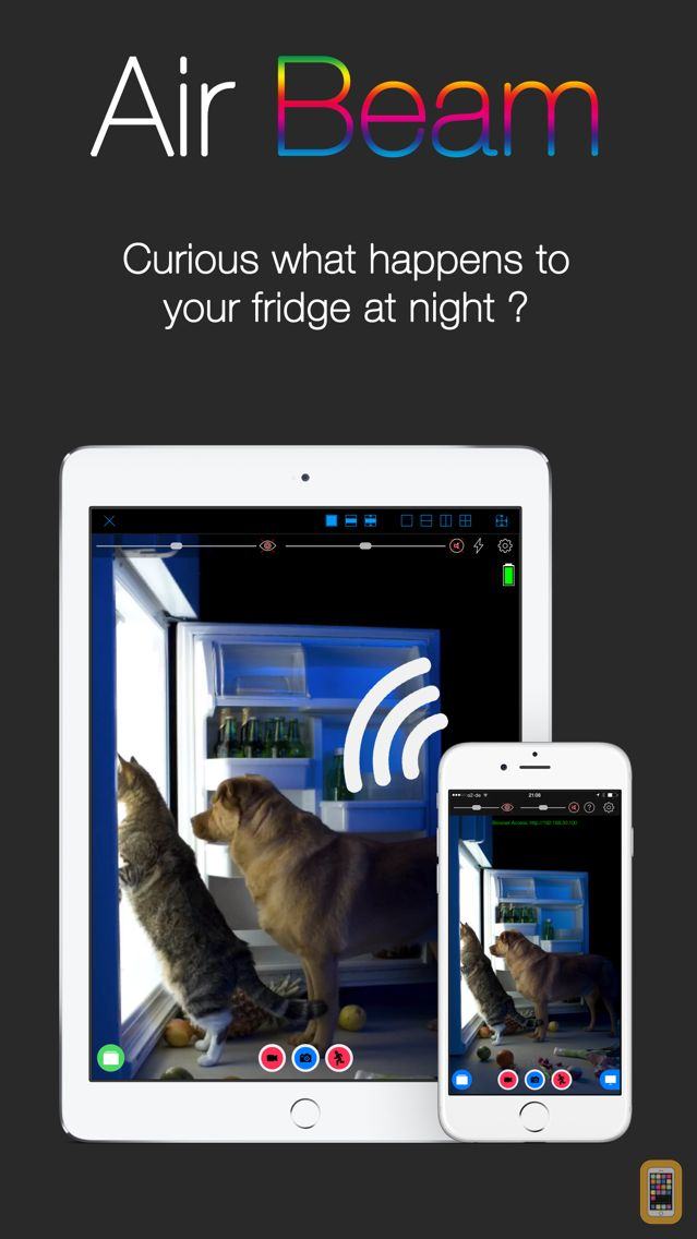 Screenshot - AirBeam Video Surveillance