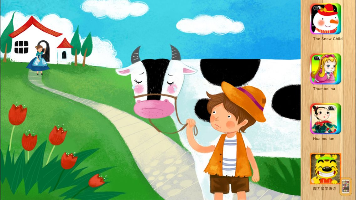 Screenshot - Jack and the Beanstalk Bedtime Fairy Tale iBigToy