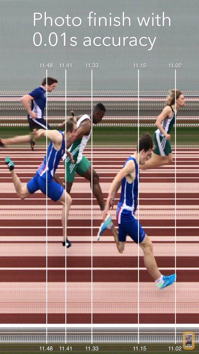 Screenshot - SprintTimer - Photo Finish