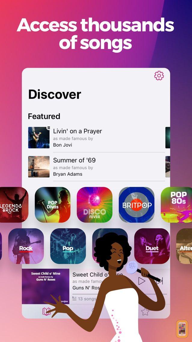 Screenshot - KaraFun - Karaoke & Singing