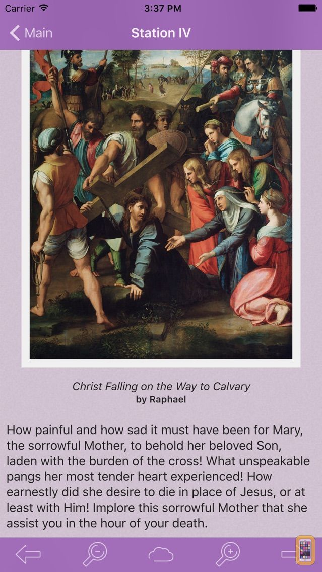 Screenshot - Via Crucis: Catholic Meditations on the Way of the Cross by St. Francis of Assisi